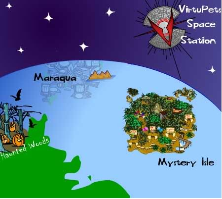 Old neopia map