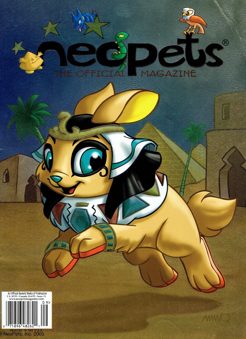 Neopets Magazine, Issue 11, page 1